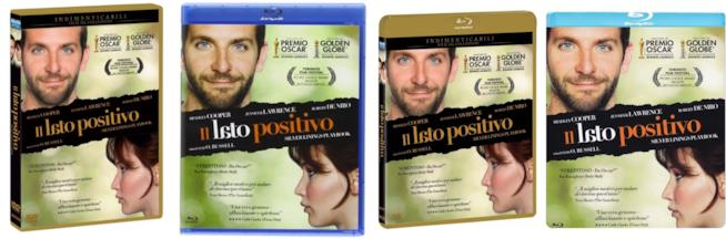 Silver Linings Playbook, le edizioni homevideo