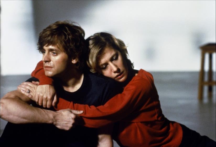 Mikhail Baryshnikov e Helen Mirren in Il sole a mezzanotte