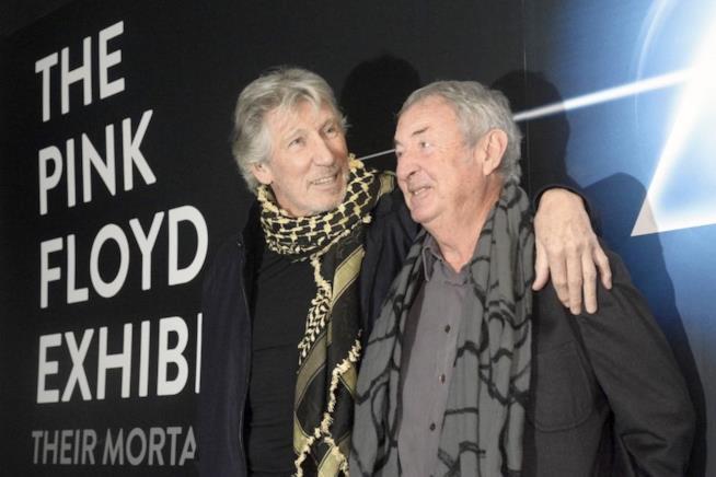 Nick Mason e Roger Waters al Macro di Roma