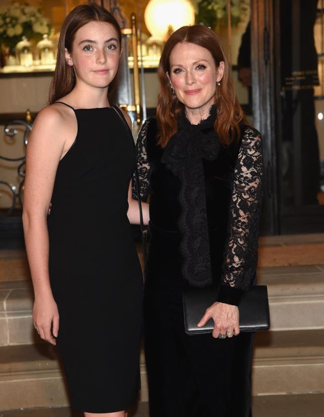Julianne Moore e la figlia Liv
