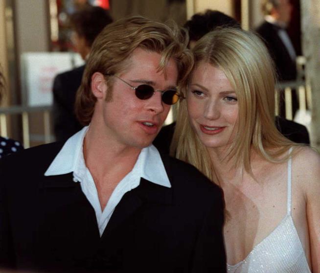 Un vecchio scatto di Brad Pitt e Gwyneth Paltrow