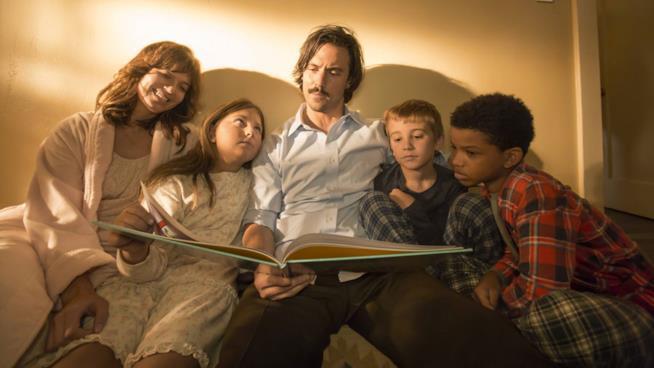 La famiglia Pearson in This is us