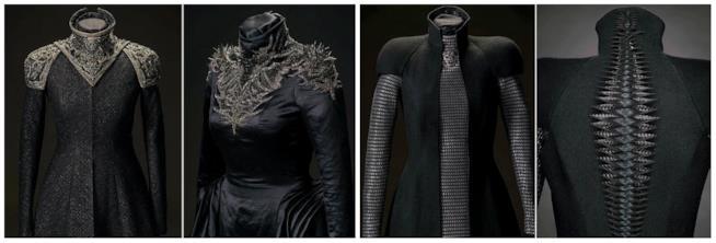 Il dettaglio dei costumi di Cersei Lannister