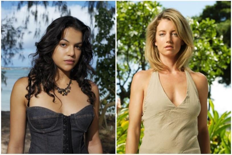 I personaggi di Michelle Rodriguez e Cynthia Watros in Lost