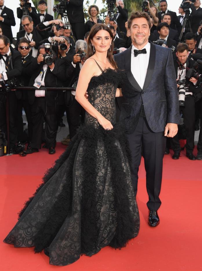 Penélope Cruz e Javier Bardem sul red carpet di Cannes 2018