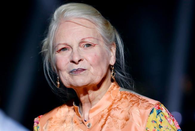 La stilista Vivienne Westwood