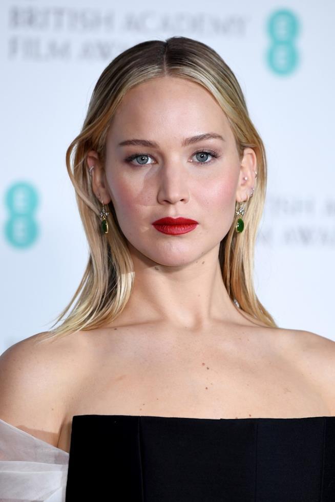 Jennifer Lawrence in primo piano