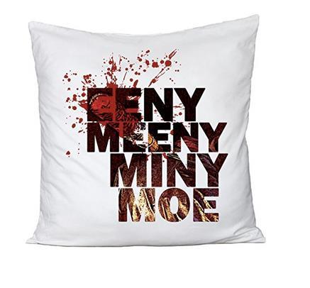 Il cuscino della conta inglese Eeny, meeny, miny, moe