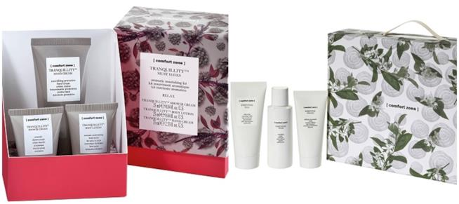 Tranquillity Must Haves e Essential kit di Comfort Zone