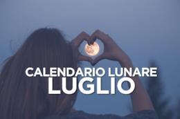 Le fasi lunari di Luglio 2019