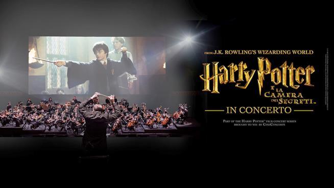 Il secondo film di Harry Potter in concerto live