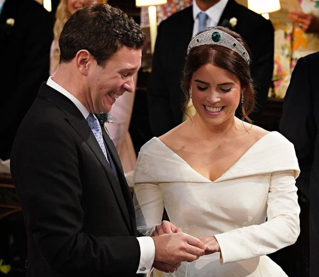 Il secondo Royal Wedding con Eugenie e Jack