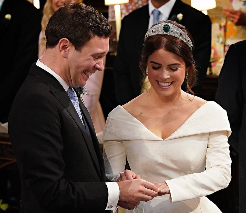 Il secondo Royal Wedding con Eugenie e Jack