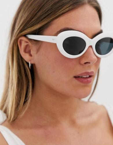 Occhiali da sole bianchi