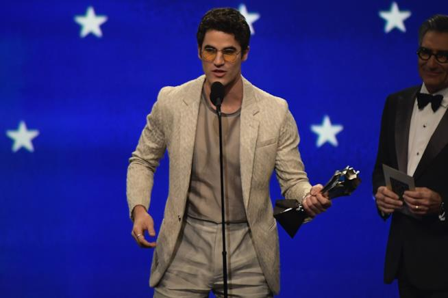 Darren Criss miglior attore in una miniserie ai Critics' Choice Awards