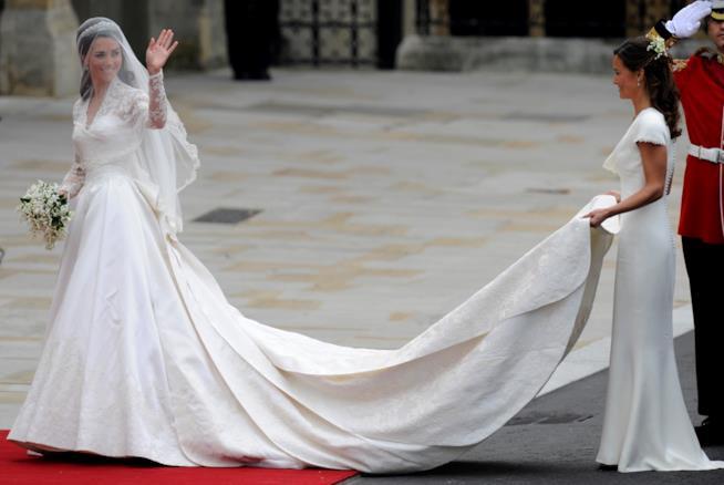 Il vestito da sposa di Kate Middleton