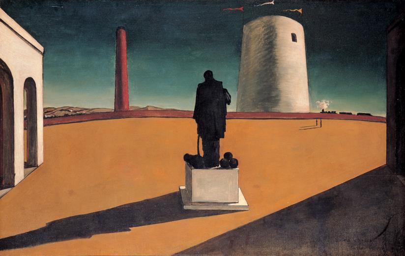 Giorgio de Chirico L'enigma di una giornata, 1914