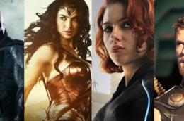 Alcuni supereoi Marvel e DC