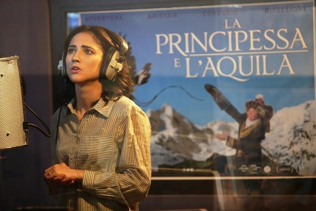 L'attrice Lodovica Comello presta la voce al documentario La principessa e l'aquila