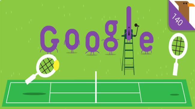 Doodle di Google per Wimbledon