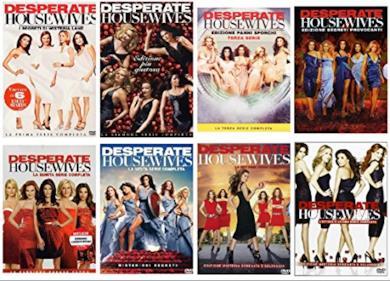 Cofanetti DVD di Desperate Housewives - Stagioni 1-8