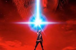 Un dettaglio del poster di Star Wars: Gli Ultimi Jedi