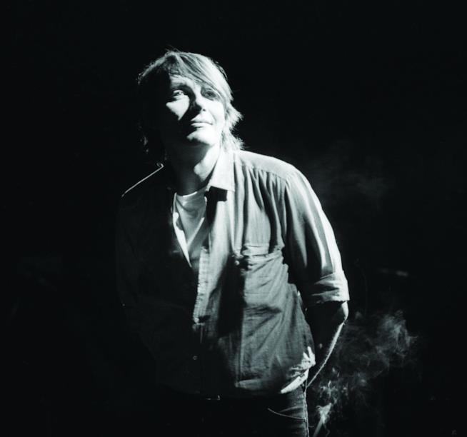 Fabrizio De André in una foto d'archivio