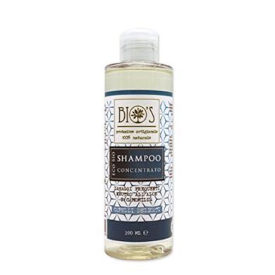 Shampoo con estratti di aloe e camomilla