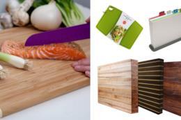Tagliere da cucina rettangolare e in legno