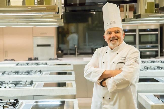 Rossano Boscolo ha inaugurato il primo corso in Italia per chef salutisti