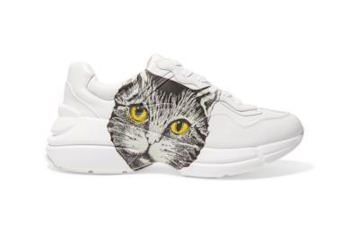 Sneaker Rhyton donna con Mystic Cat