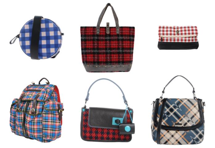 Tote bag, mini bag, zainetti a quadri di tendenza per l'autunno 2018