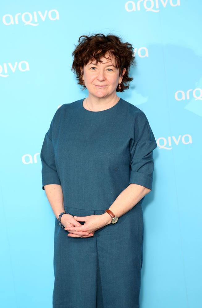La presentatrice Jane Garvey