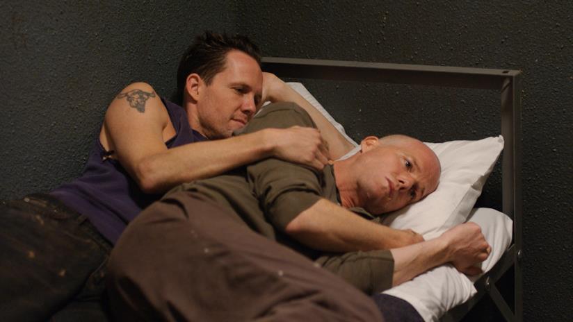 Cyril e Ryan O'Reily durante una puntata dell'ultima stagione di OZ