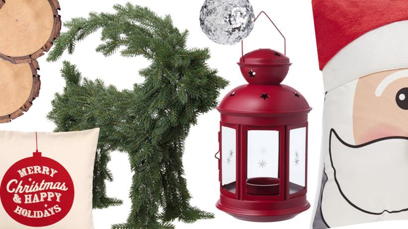 Le decorazioni low cost per Natale 2017