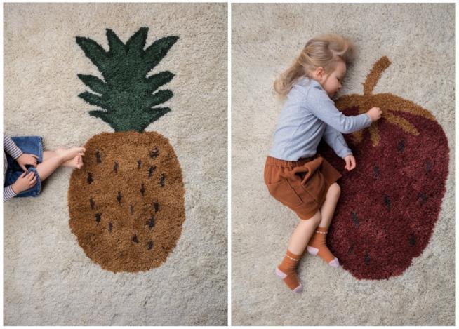 Regali per la casa: tappeti Fruiticana di Ferm Living