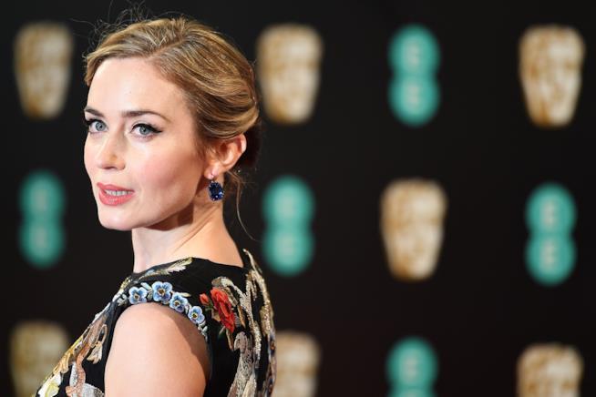 L'attrice interpreta il nuovo film dedicato a Mary Poppins