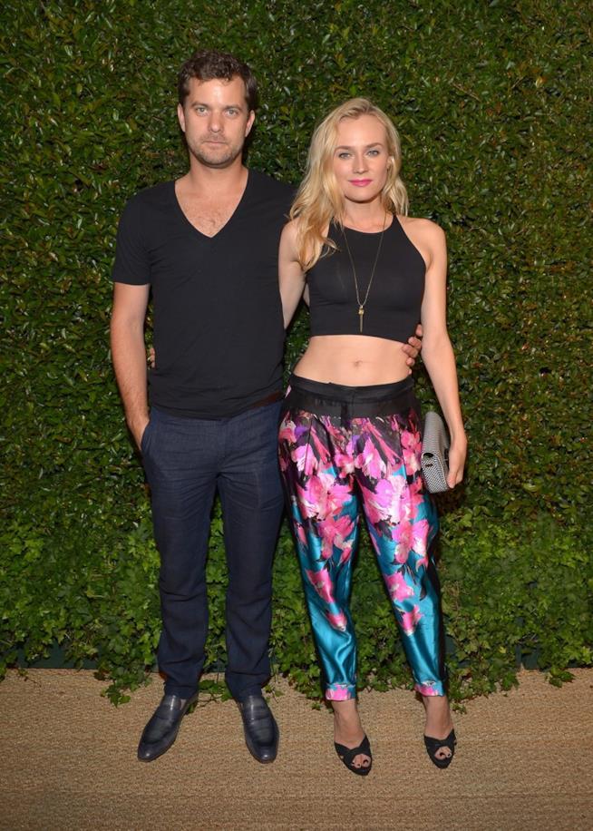 Un look casual di Joshua Jackson e Diane Kruger