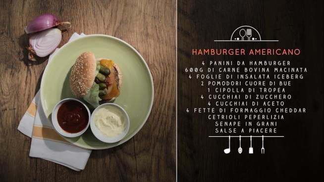 Hamburger americano con cipolla di Tropea