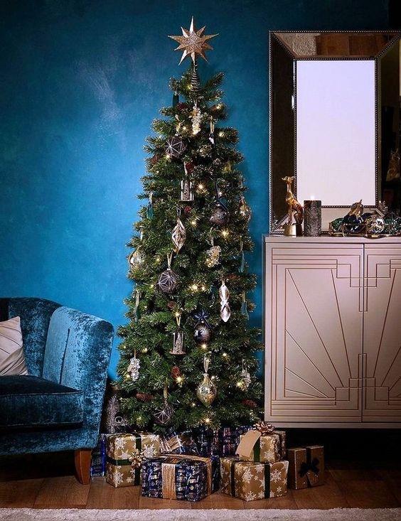 Albero natalizio tradizionale