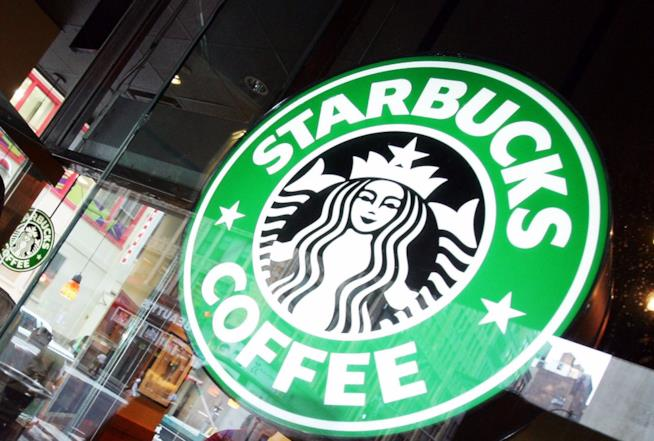 Insegna Starbucks