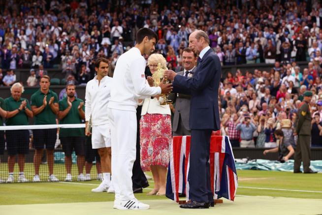 Il Duca di Kent al Torneo di Wimbledon