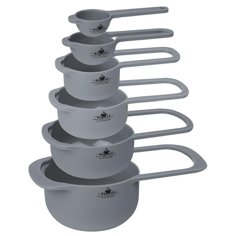 Set di 6 Misurini Cup lavabili in lavastoviglie