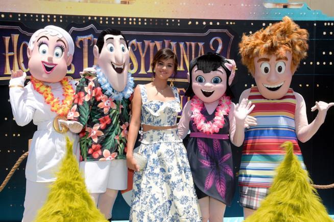 Selena Gomez alla prima di Hotel Transilvania 2