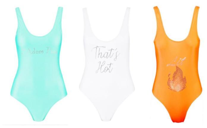 Color block e con stampe frontali, i costumi da bagno di tendenza per l'estate 2018