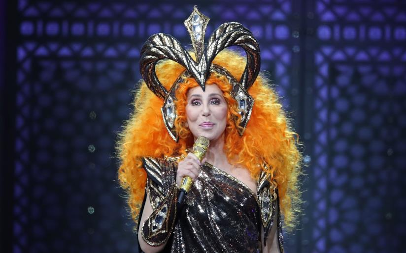 Cher al MET Gala 2019 durante la sua performance