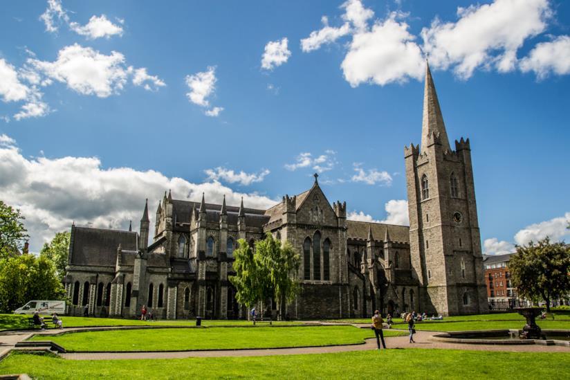 St Patrick Chatedral a Dublino