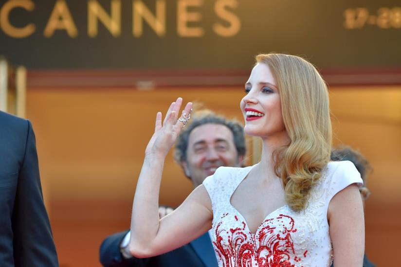 Jessica Chastain a Cannes 2017
