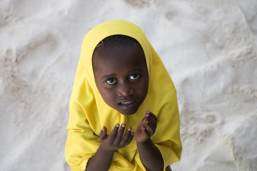 Una bimba di Zanzibar