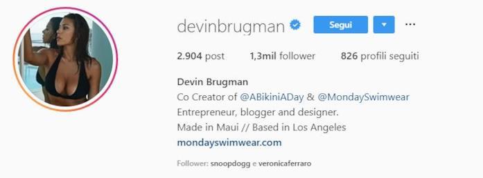 Profilo Devin Brugman